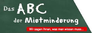 Das ABC der Mietminderung